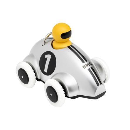 BRIO® Push and Go Racerbil Sølv udgave 30232