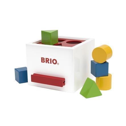 BRIO® Palikkapeli valkoinen
