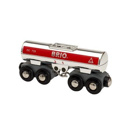 BRIO WORLD Tankbil sølv