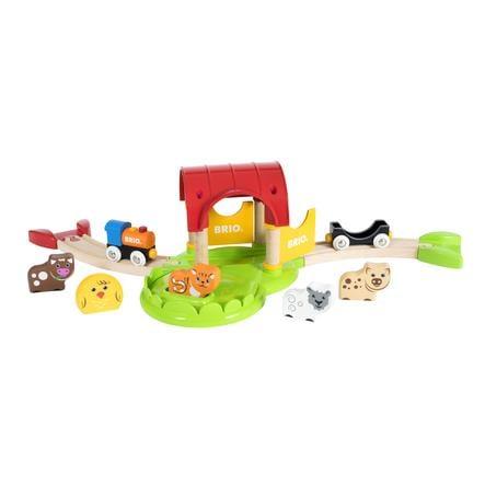 BRIO® Mein erster BRIO Bahn Bauernhof mit Sound baby markt.at