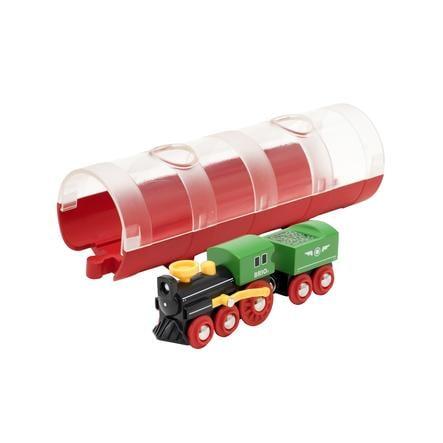 BRIO® WORLD Figurine tunnel locomotive à vapeur 33892
