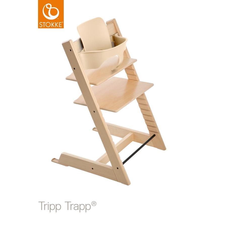 STOKKE® Tripp Trapp® Hochstuhl Buche natur inkl. Baby Set natur