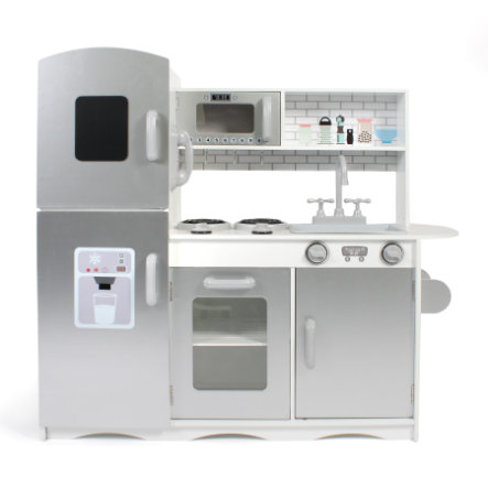BAYER CHIC 2000 kuchyňka bílá/stříbrná