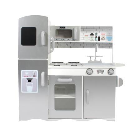 BAYER CHIC 2000 Spielküche weiß/silber