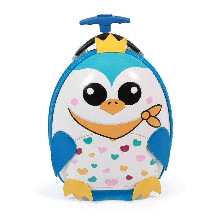 BAYER CHIC 2000 Bouncie Koffer Pinguin