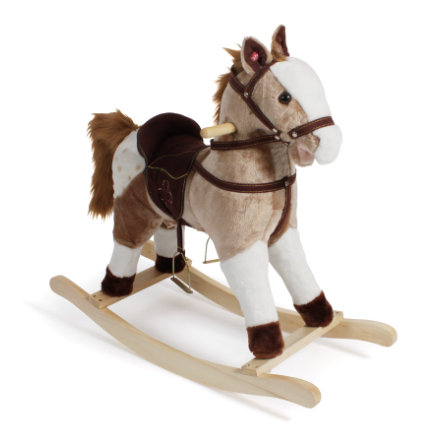BAYER CHIC 2000 Houpací kůň hnědý s bílými skvrnami