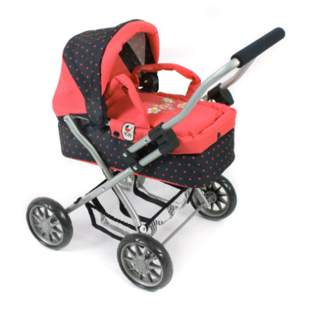 BAYER CHIC 2000 Mini-Kuschelwagen SMARTY Dots Koralle