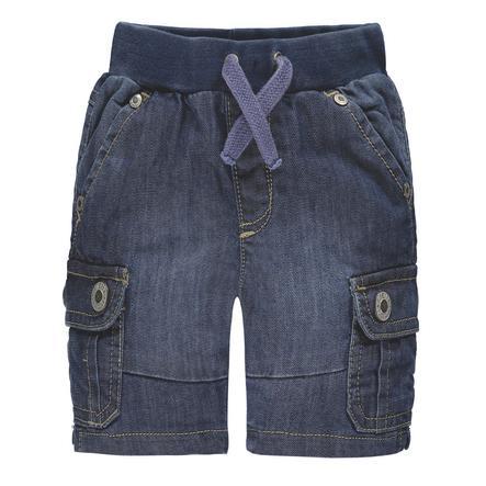 Steiff Boys Jeans-Bermuda bleu denim