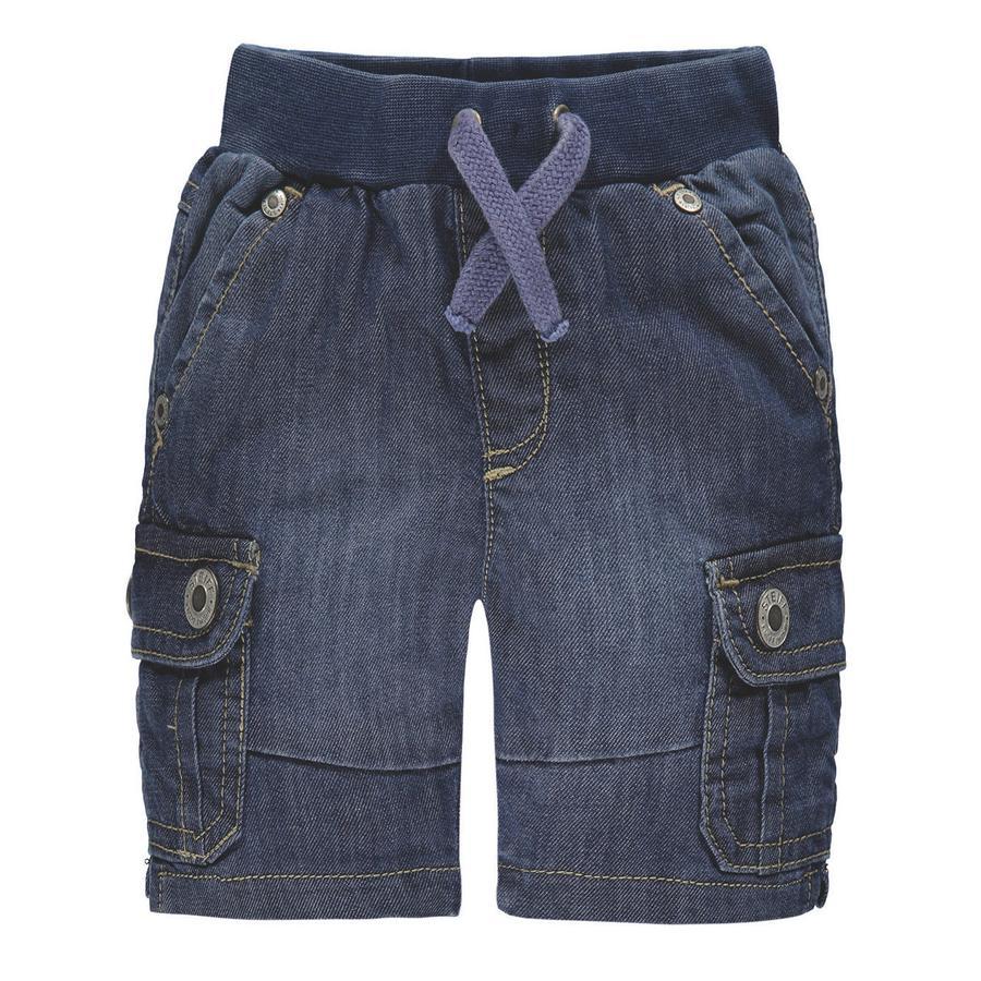 Steiff Boys Jeans-Bermuda blauw denim