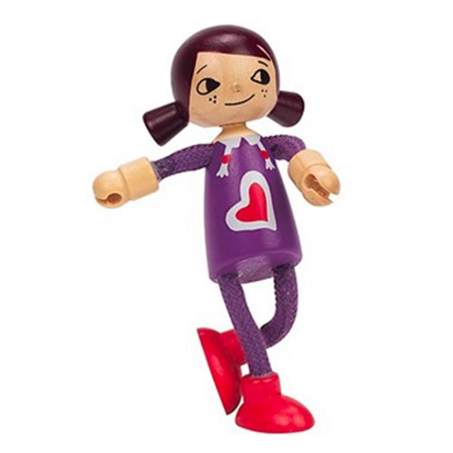 """HAPE Bambola di legno """"Figlia"""""""