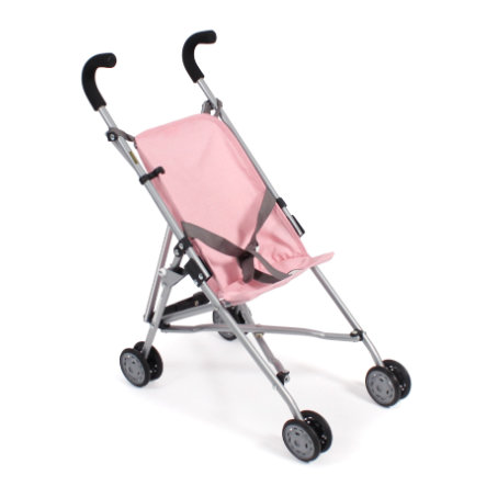 BAYER CHIC 2000 Mini-Buggy ROMA Melange grau-rosa