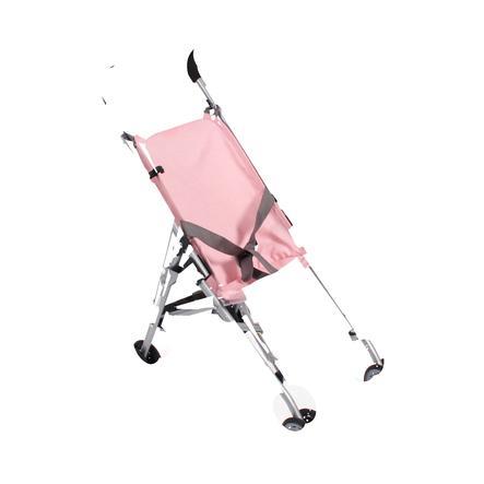 BAYER CHIC Mini Buggy Roma šedivo-růžová