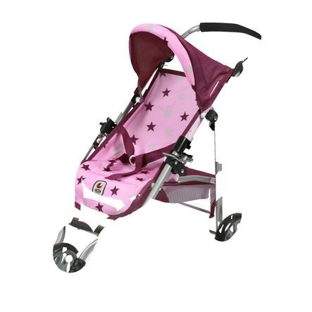 BAYER CHIC 2000 Wózek sportowy dla lalek LOLA Stars Berry