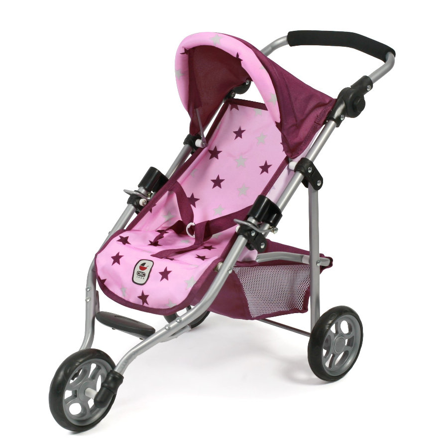 BAYER CHIC 2000 Jogging-Buggy LOLA Stars Brombeere