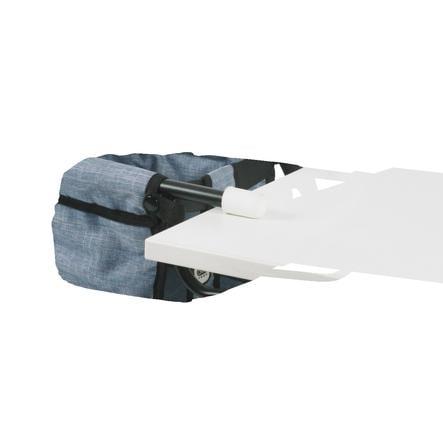 BAYER CHIC 2000 Sedačka ke stolu pro panenku Jeans blue
