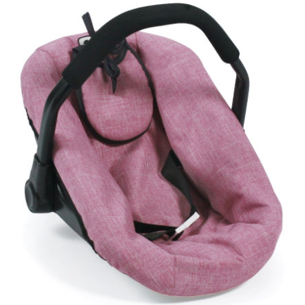 BAYER CHIC 2000 Puppen-Autositz Jeans pink