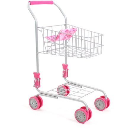 BAYER CHIC 2000 Caddie enfant pour poupée rose