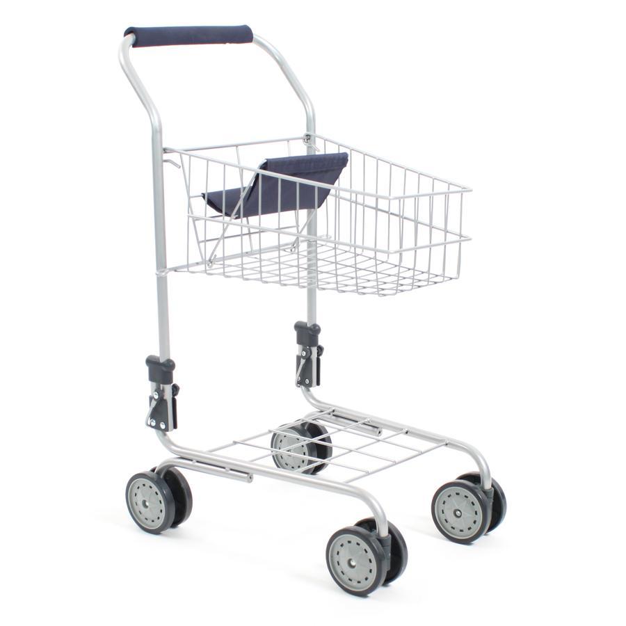 BAYER CHIC 2000 Supermarkt-Einkaufswagen navy blue