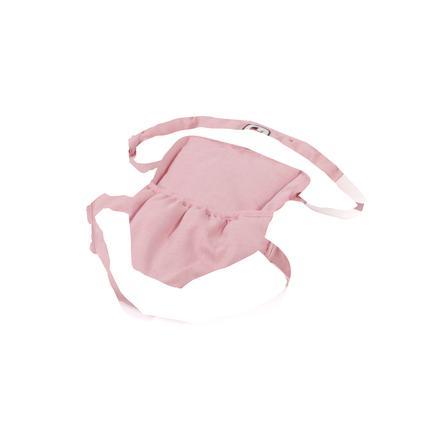 BAYER CHIC 2000 Puppen-Tragegurt Melange grau-rosa