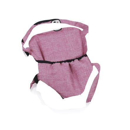 BAYER CHIC 2000 bambola bambola che trasportano cinghia Jeans rosa
