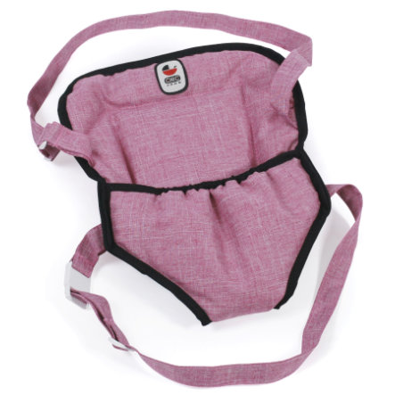 BAYER CHIC 2000 Doll Carrying Strap Jeans pink