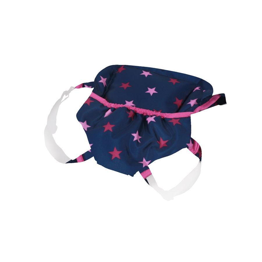 BAYER CHIC 2000 Porte-bébé pour poupée Stars bleu marine