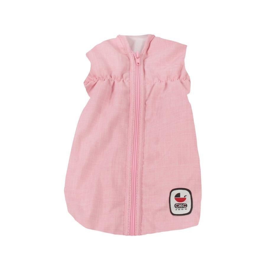 BAYER CHIC 2000 Puppen-Schlafsack Melange grau-rosa