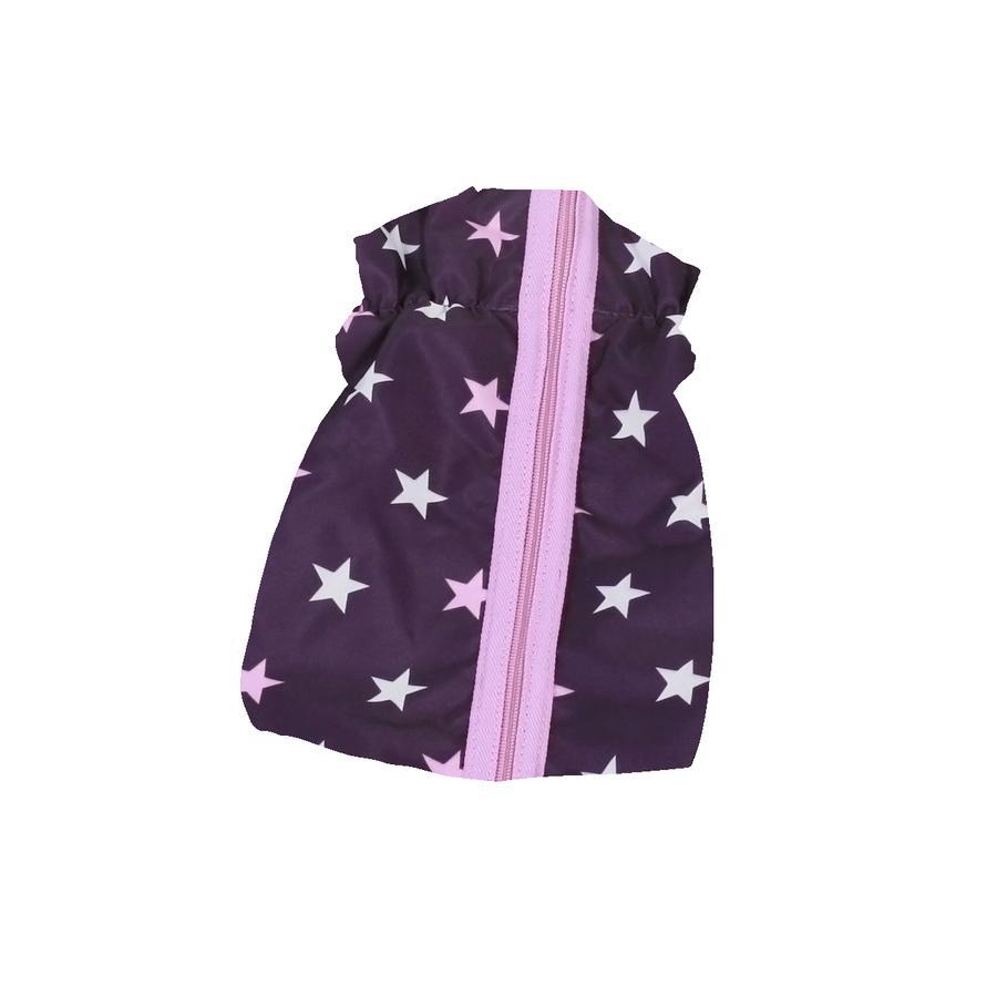 BAYER CHIC 2000 Gigoteuse pour poupée Stars violet