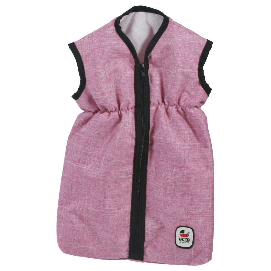 BAYER CHIC 2000 Puppen-Schlafsack Jeans pink