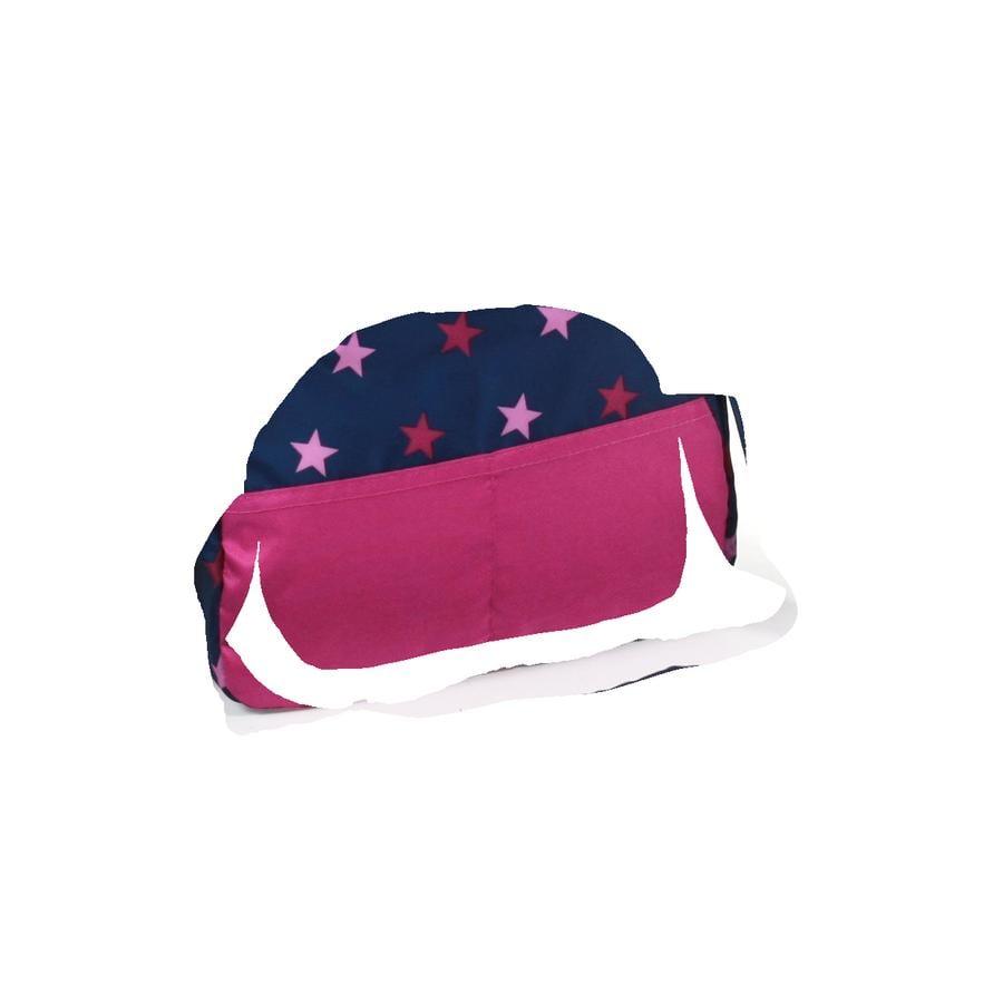 BAYER CHIC 2000 Přebalovací taška pro panenky Hvězdičky námořní