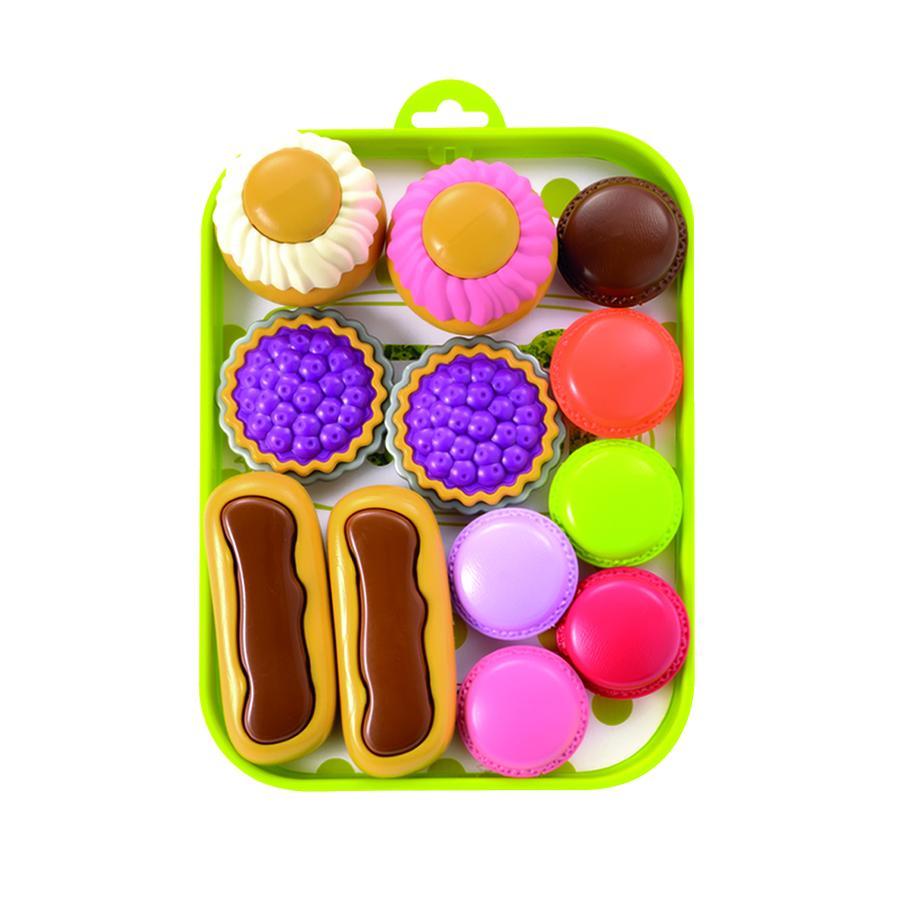 ecoiffier 100 % Chef - Tablet t con dolcetti di pasticceria