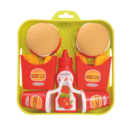 ECOIFFIER Hamburger Set met dienblad