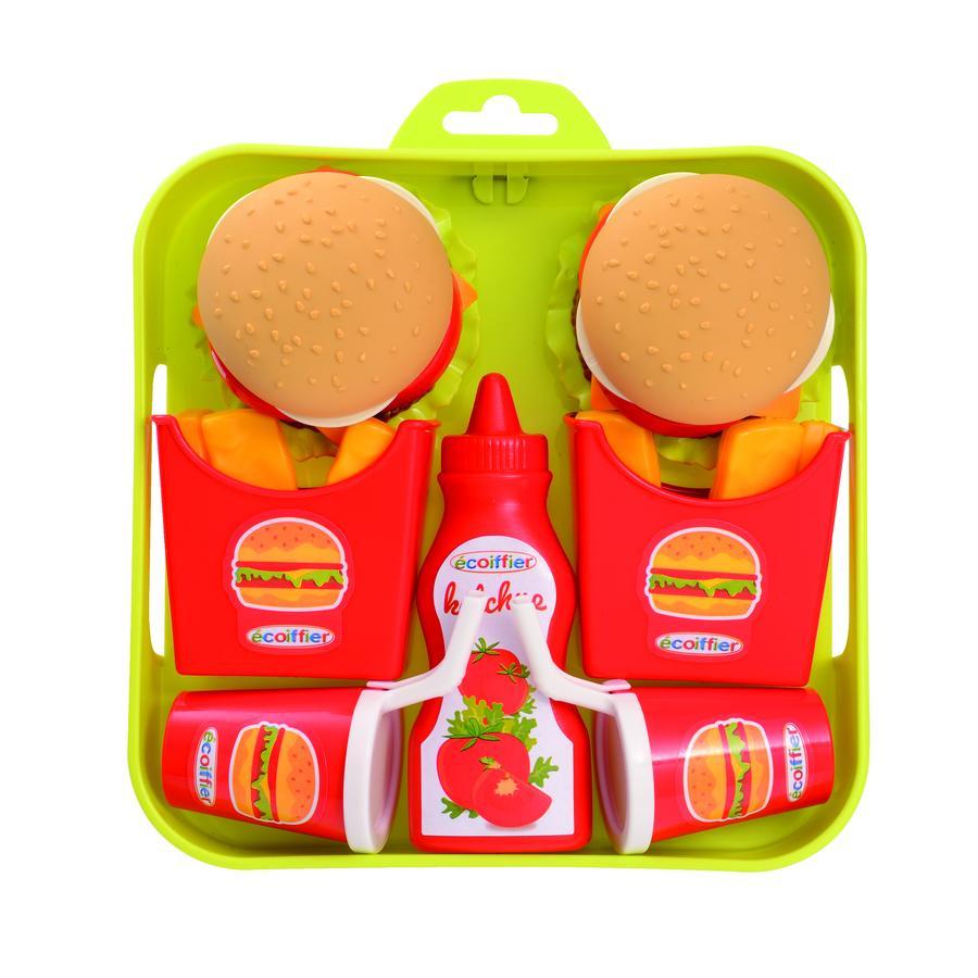 ECOIFFIER Set de hamburgers avec tablette