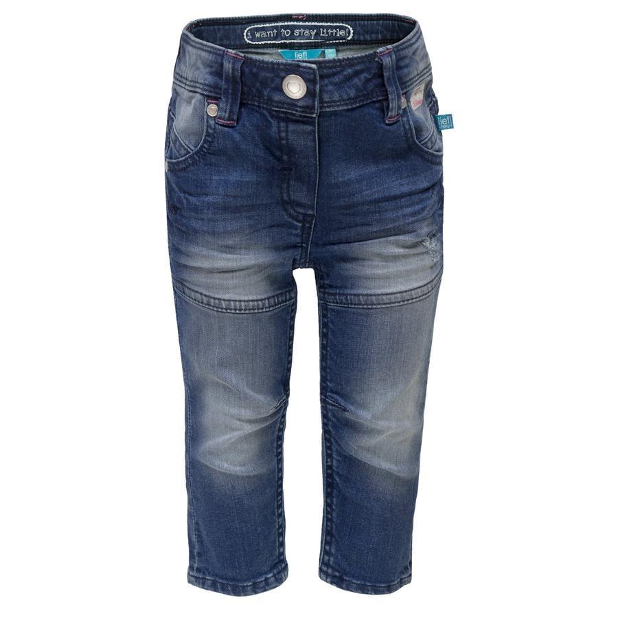 Rennen! Girl S Jeans, blauw.