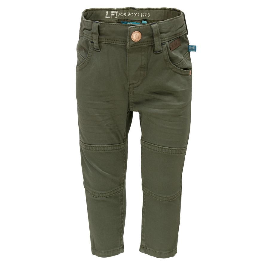 běžel! Chlapecké kalhoty, olivově zelené