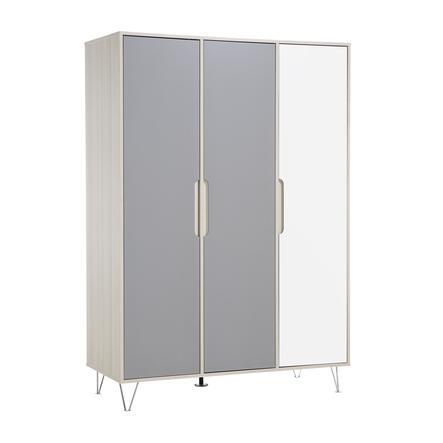 Geuther šatní skříň Marit antracitová třídveřová