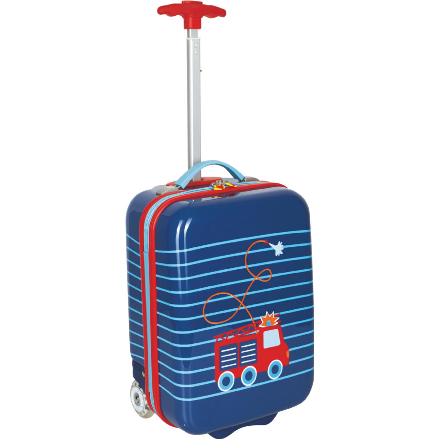 COPPENRATH Valise trolley enfant rigide Pompier