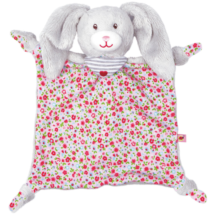 COPPENRATH Schnuffeltuch lapin Baby chanceux