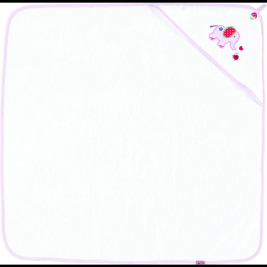 COPPENRATH Håndklæde elefant baby lykke lyserød