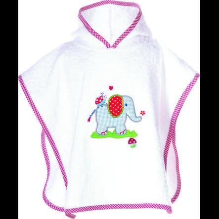 COPPENRATH Badeponcho Elefant Baby Glück one size