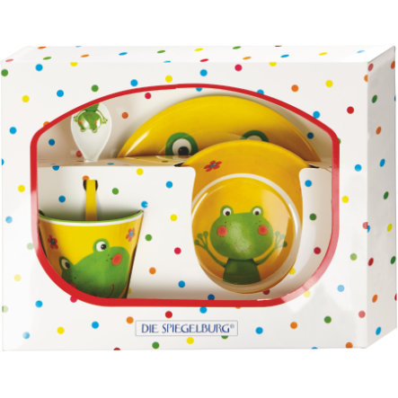 COPPENRATH Melamin-Geschenkset Frosch Freche Rasselbande