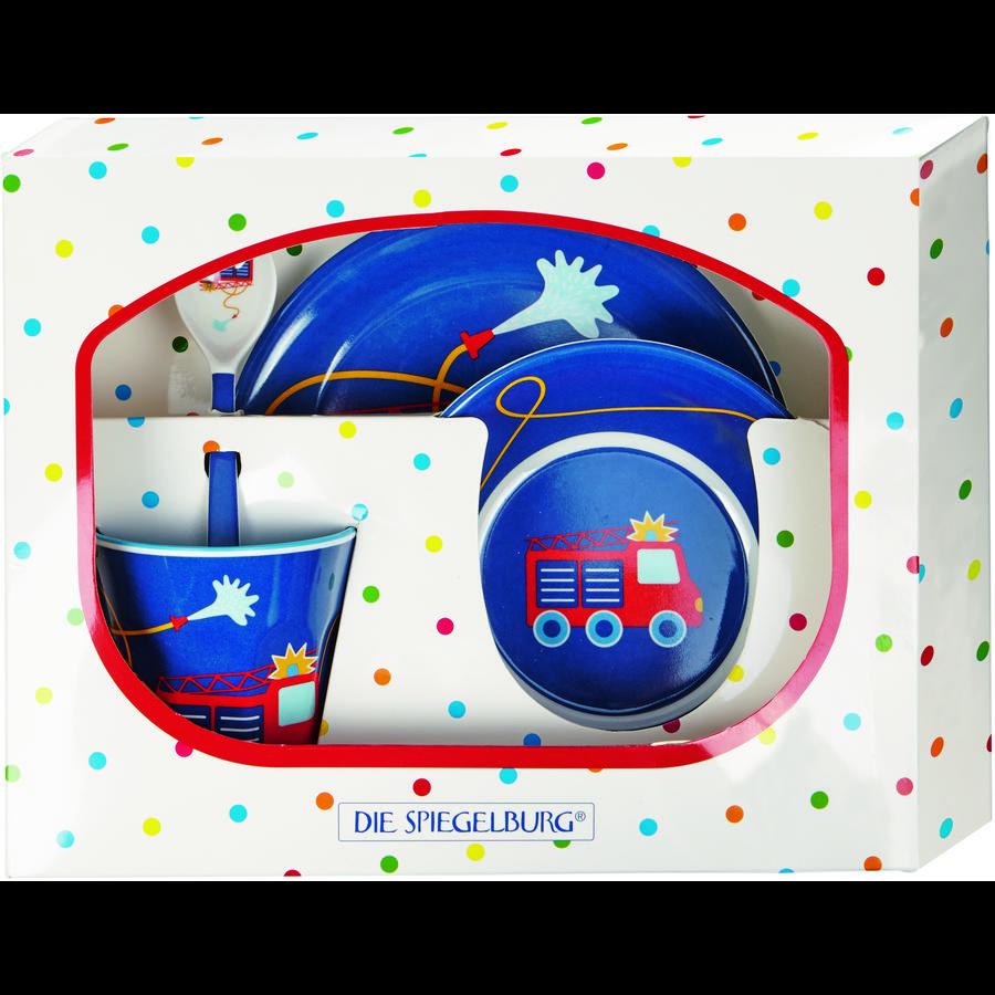 COPPENRATH Set de regalo de melamina para bomberos