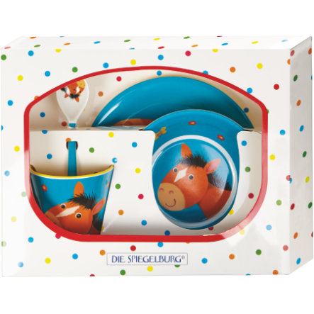COPPENRATH Coffret Cadeau Mélamine Cheeky Cheeky Rattle Gang