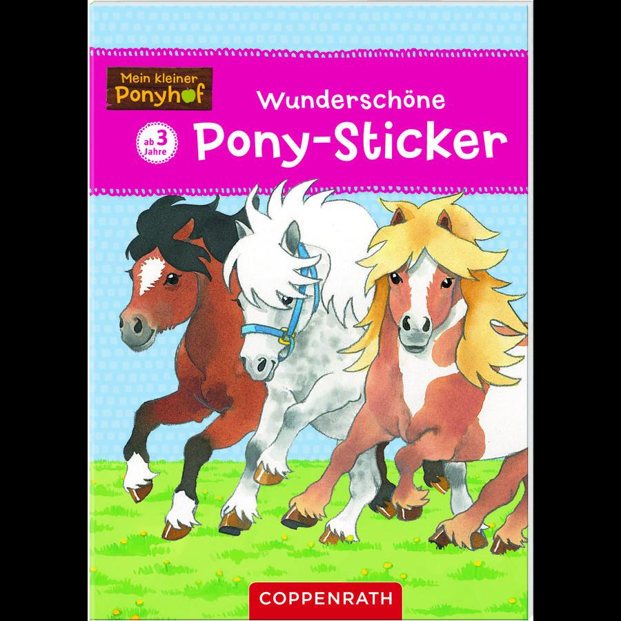 COPPENRATH Vakre pony klistremerker - My little Ponyhof