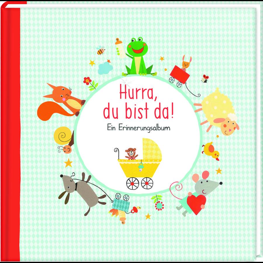 SPIEGELBURG COPPENRATH Babyalbum - Hurra, du bist da!