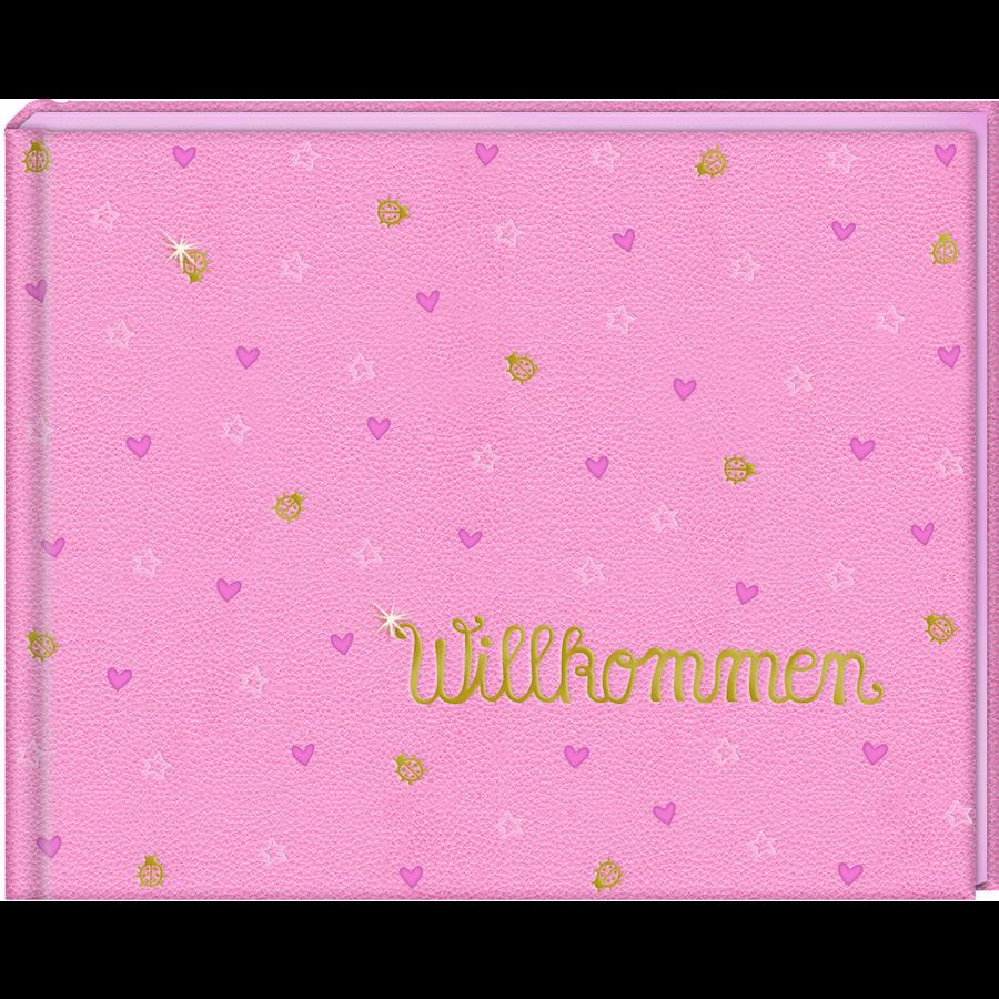 COPPENRATH Babyalbum Vítejte růžová