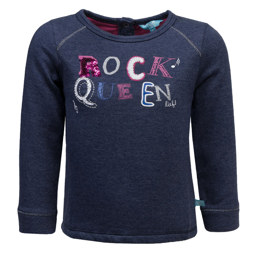 uciekła! Girl Sweatshirt blue