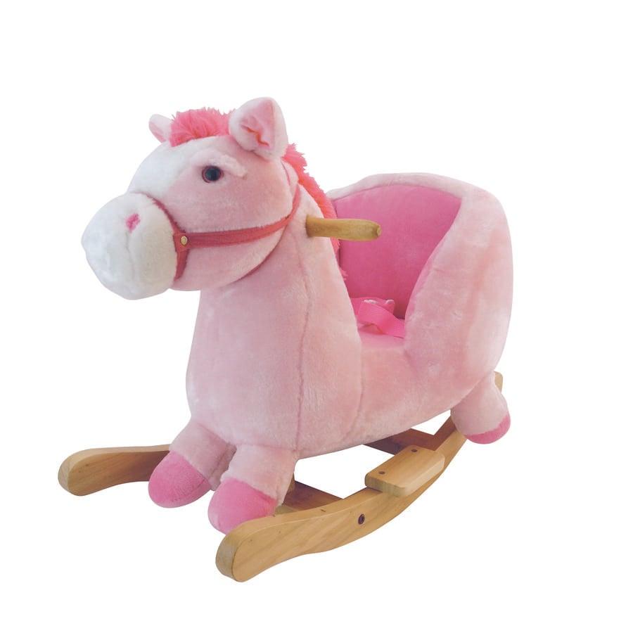 BIECO Cheval à bascule Pink Lady