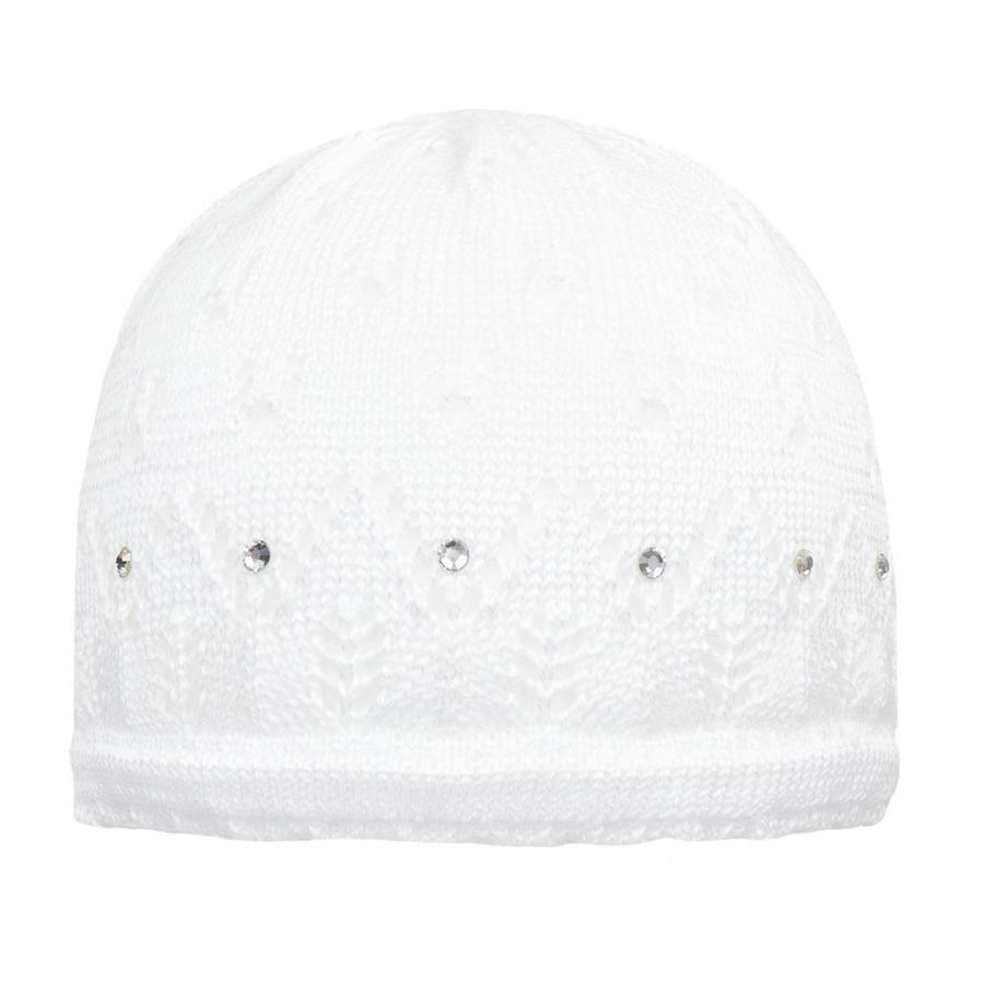 Döll tyttöjen Pot -hattu köysi, lumivalkoinen