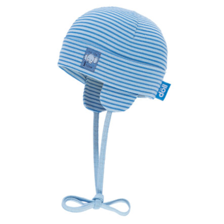 Döll Wiążąca czapka Jersey, niebieski powietrzny